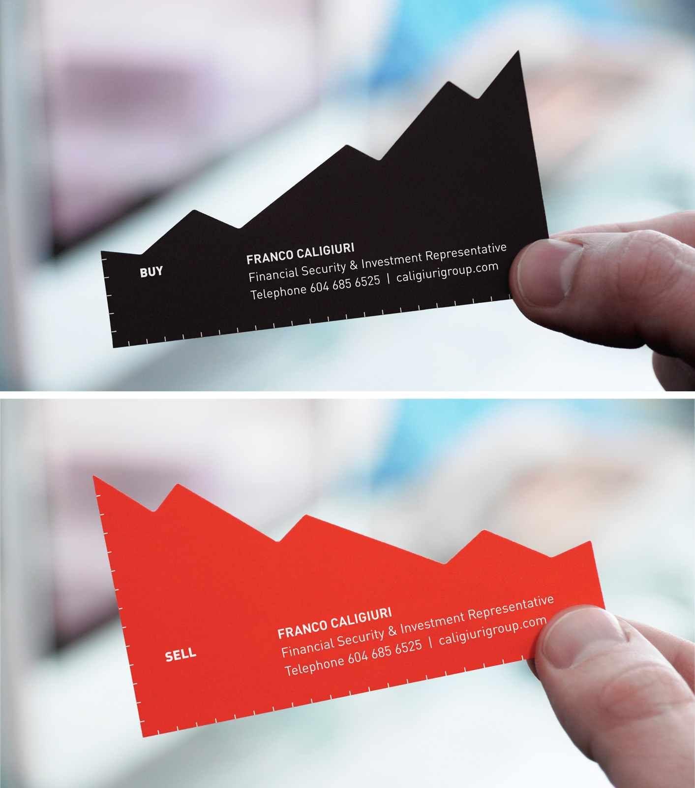 Franco Caligiuri Financial & Investment Representative: Chart business card