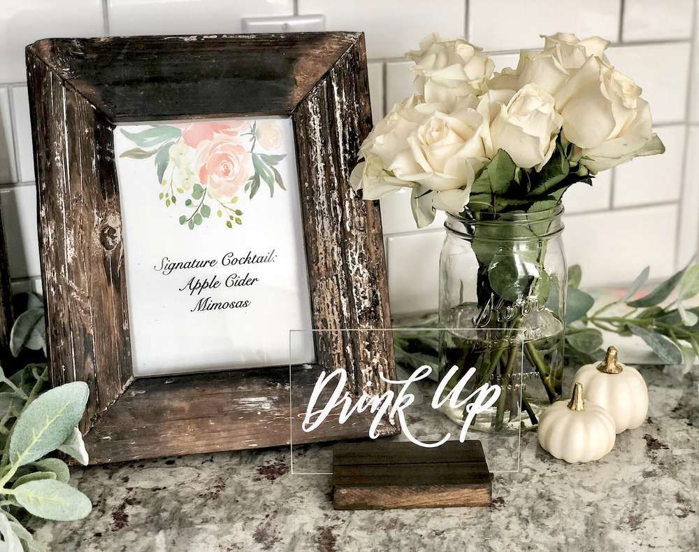 Rustic Farmhouse Baby Shower Baby
