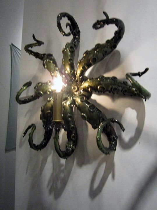 Octopus Lamp Halloween Makeup Costumes And Decorations