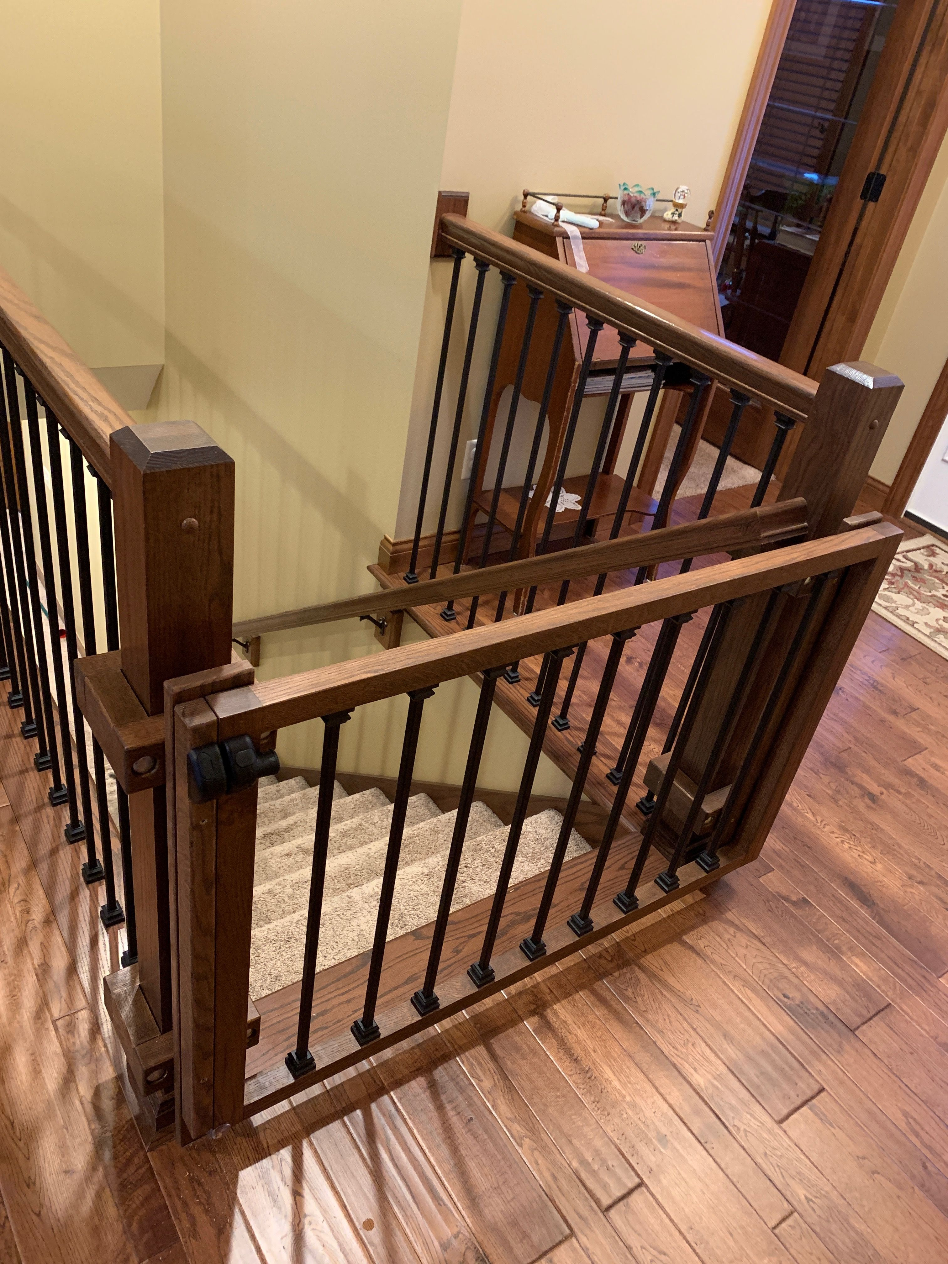 Baby gate. Custom woodworking. in 2020 | Baby gates