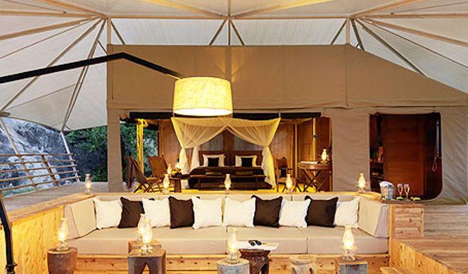 Luxury safari tents & Luxury safari tents | Places Iu0027d like to go | Pinterest | Tents