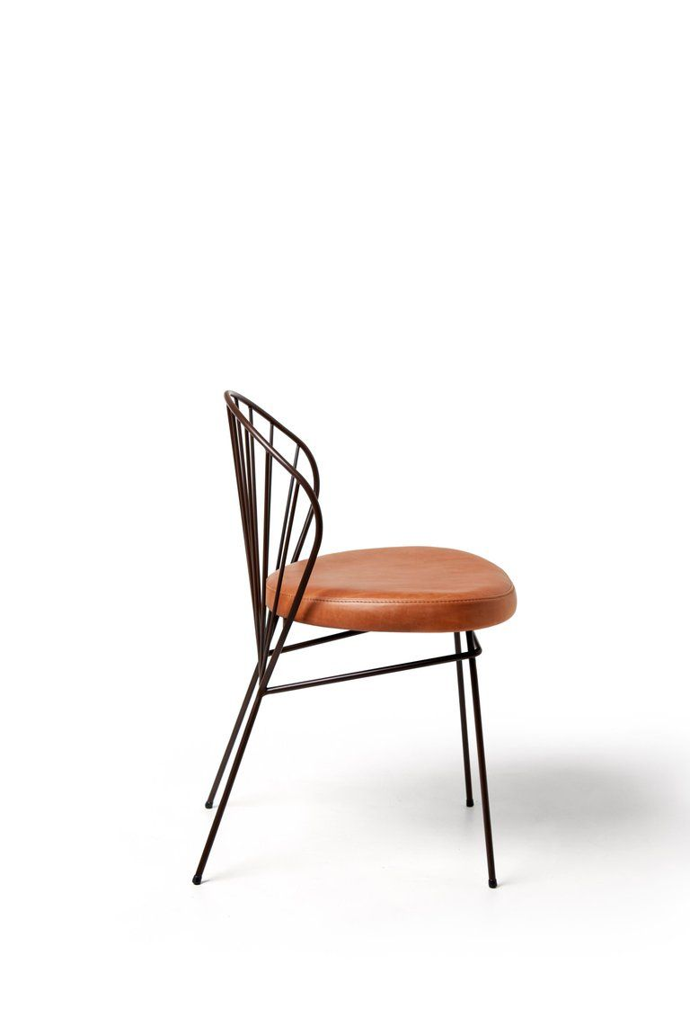 Other madeleine contemporary chair in carbon steel blue for sale
