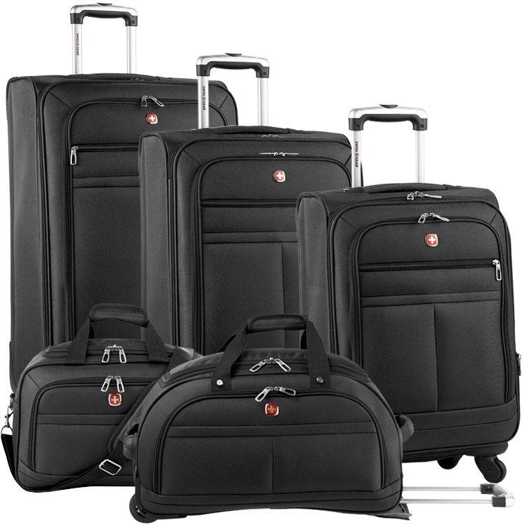 Black Swiss Gear Bravado Luggage Set | Wants | Pinterest | Gears ...