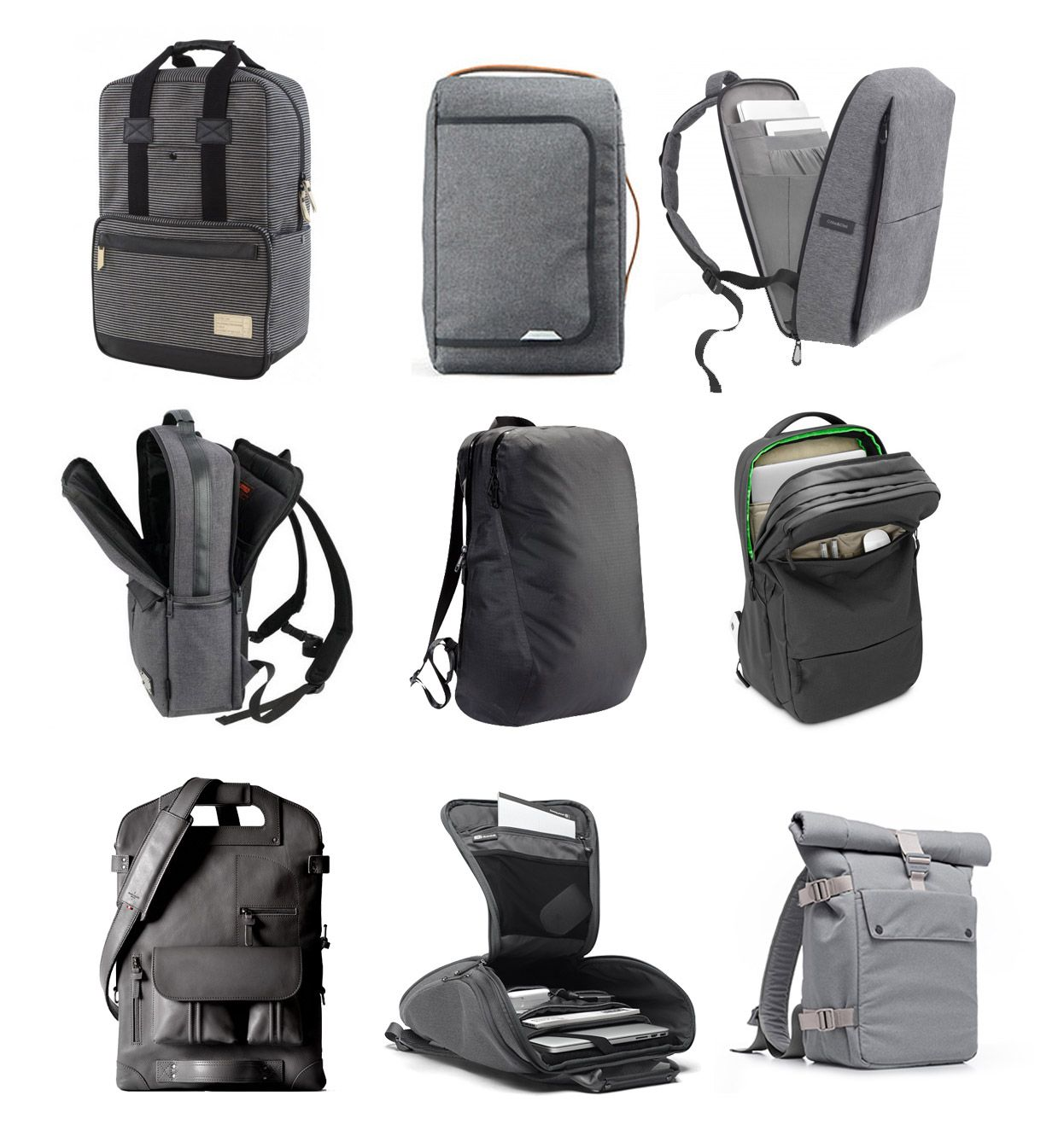 2eeee8d7ec These 9 laptop backpacks combine understated modern aesthetics with padded  protection and storage features for work and travel.