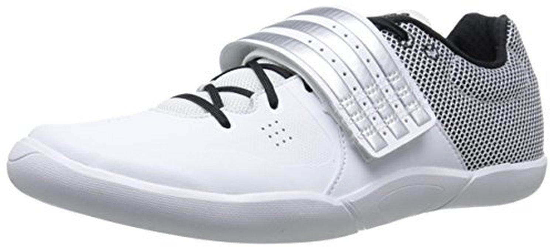 adidas performance unisex adizero giavellotto spuntoni, bianco / nero argento /