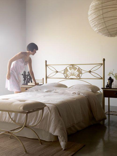 cabecero hierro forjado para cama de matrimonio y juvenil ...