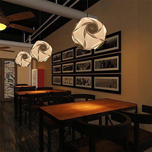 NOT DIY Indoor Pendant Lights White PVC Ceiling Light Hom... https ...