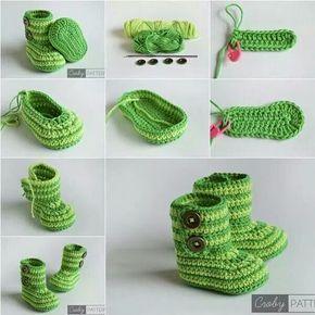 30 Crochet Baby Shoes Ideas And Patterns Ubrania I Czapki