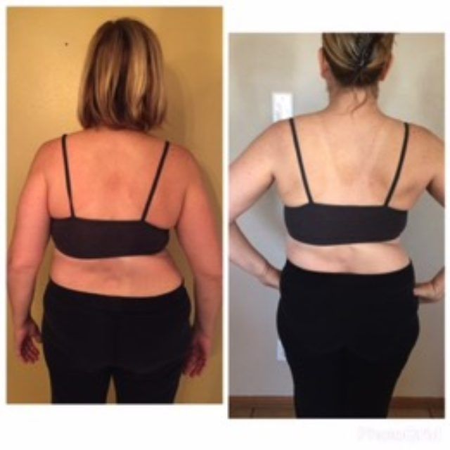 Check out the AMAZING progress Lori has made in her back since starting this fitness journey!!! That's what a year of dedicated fitness will do!!!