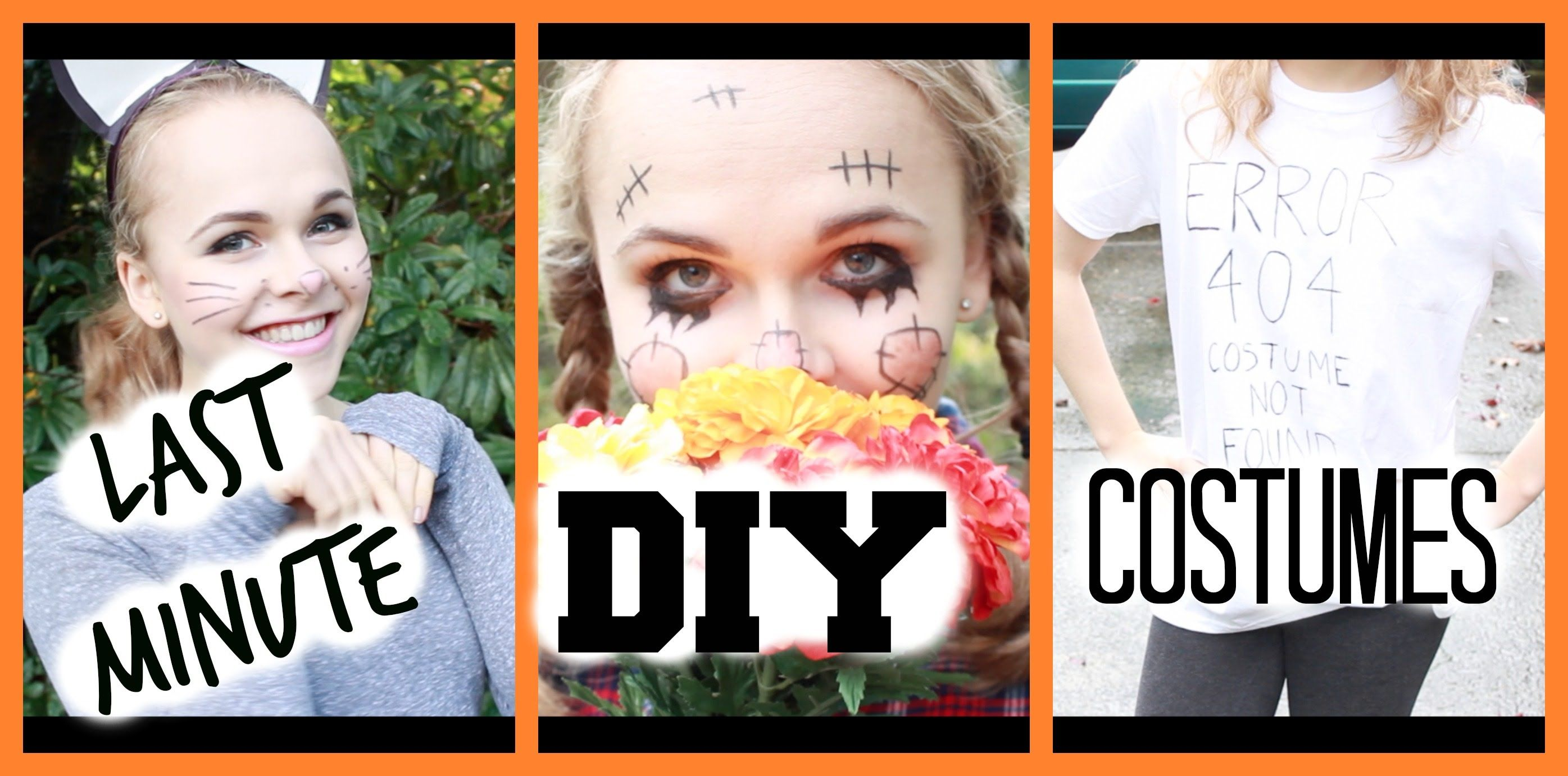 easy halloween costume ideas & make up how to s perfect for school
