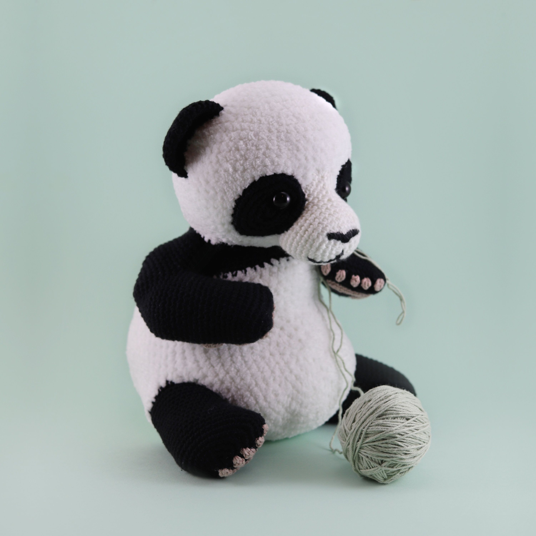 Lulu The Panda Cuddly Amigurumi Pattern PDF Lulu The Panda Cuddly Amigurumi Pattern PDF
