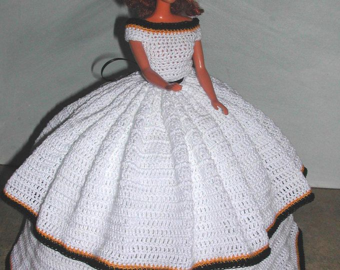MUÑECA de crochet moda muñeca Barbie patrón - #653 calendario mayo ...