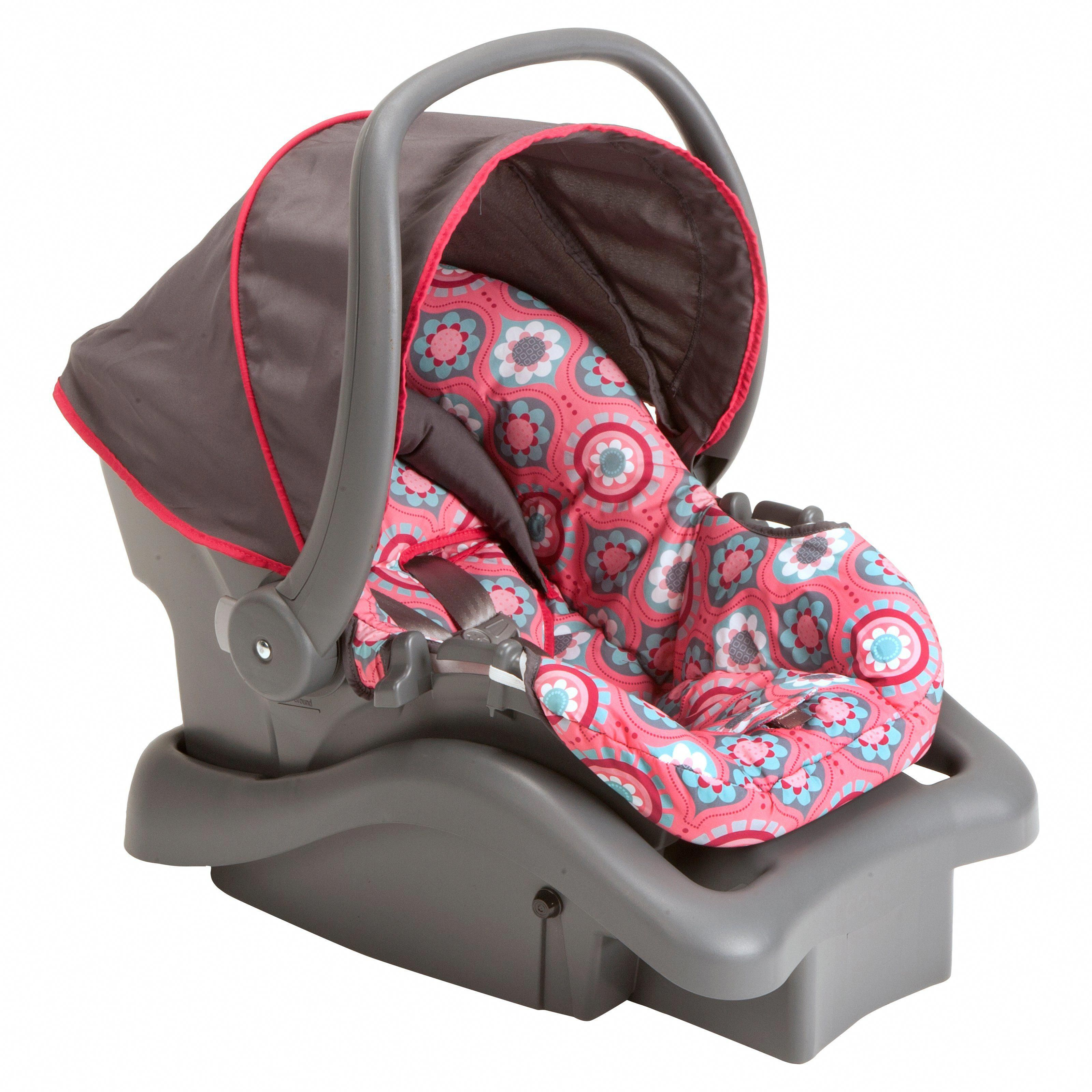 Cosco Light N Comfy DX Infant Car Seat Posey Pop