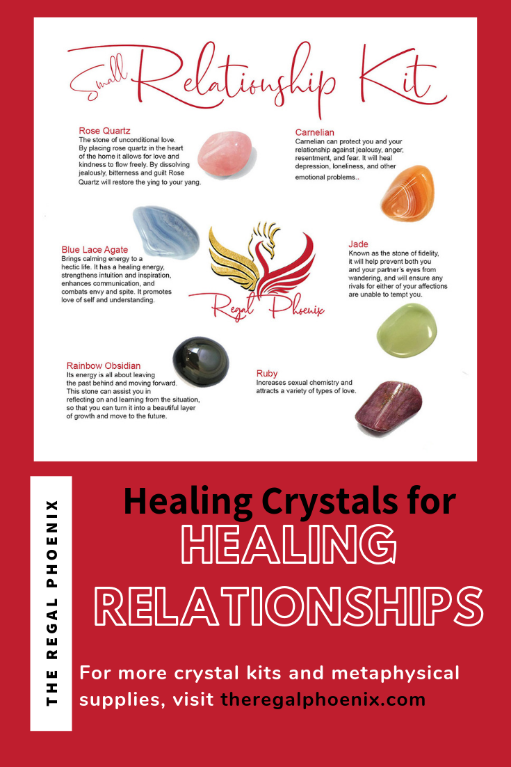 The Relationship Kit Small Crystals Relationship Medical Health Care