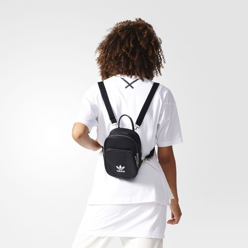 Mochila Mini Classic Preto Adidas Adidas Brasil Mochila Adidas Mochilas Elegantes Conjuntos Fashion