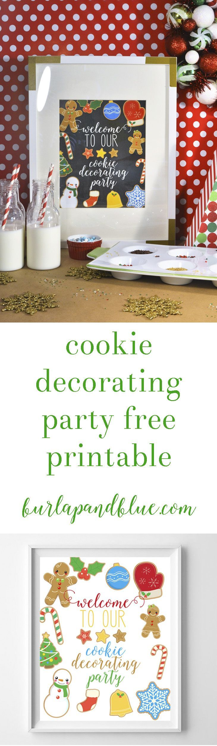 Cookie decorating party ideas - Kids Cookie Decorating Party Ideas With Glade