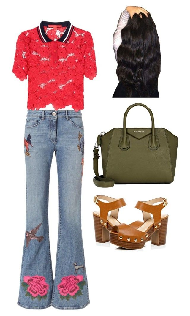 """""""A"""" by biebersqueen15 on Polyvore featuring 3x1, River Island, Tommy Hilfiger and Givenchy"""