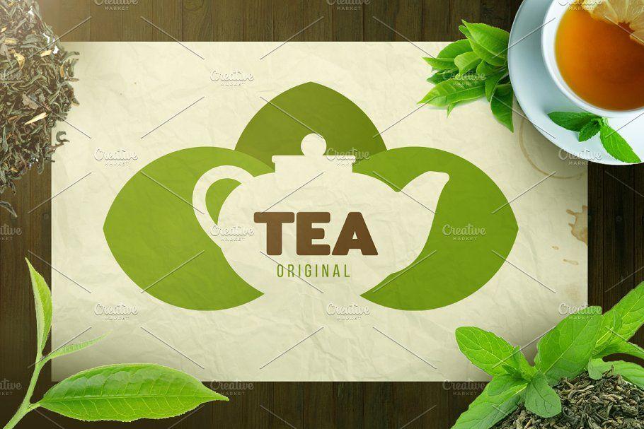 Tea Logo Design Tea Logo Logo Design Drinks Logo