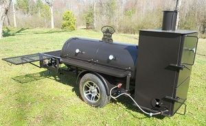 Bubba Grills 250 Reverse Flow Smoker/Grills and trailers