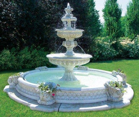 Pin de dora alicia escobedo en ideas para mi jardin for Diseno de fuente de jardin al aire libre