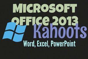 Microsoft Office Kahoots