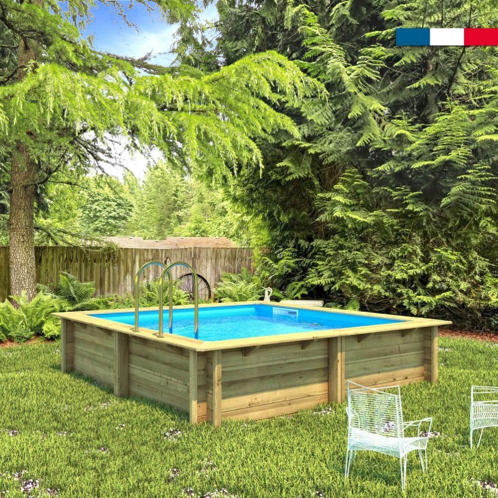 Piscine Bois Carree Weva 3 X 3 M En 2020 Piscine Hors Sol Bois Piscine Bois Piscine Hors Sol