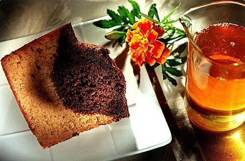 Recipe TwoToned Honey Chocolate Marble Cake Chocolate marble