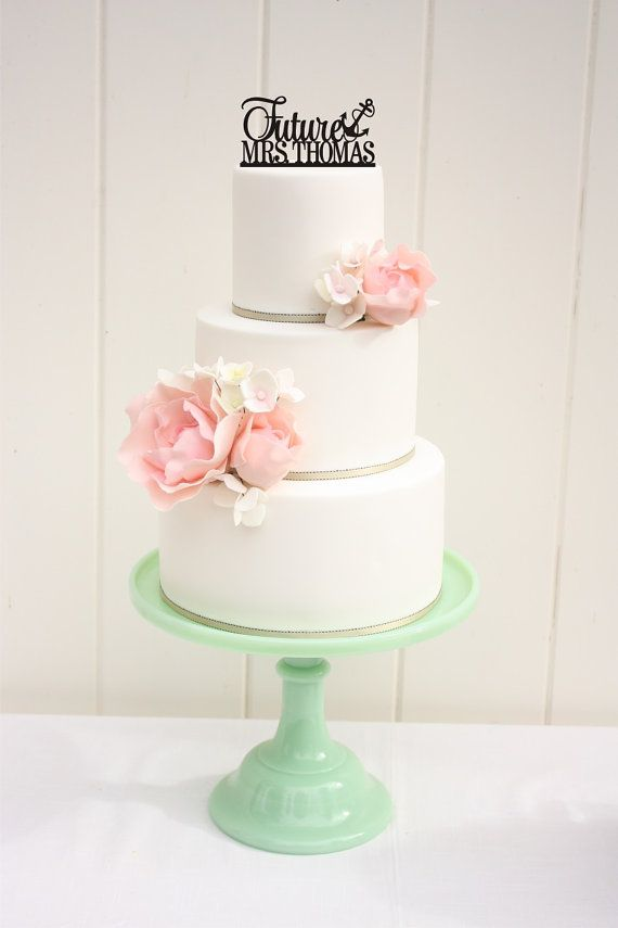 Nautical Wedding Shower Bridal Shower Cake By Thepinkowlgifts