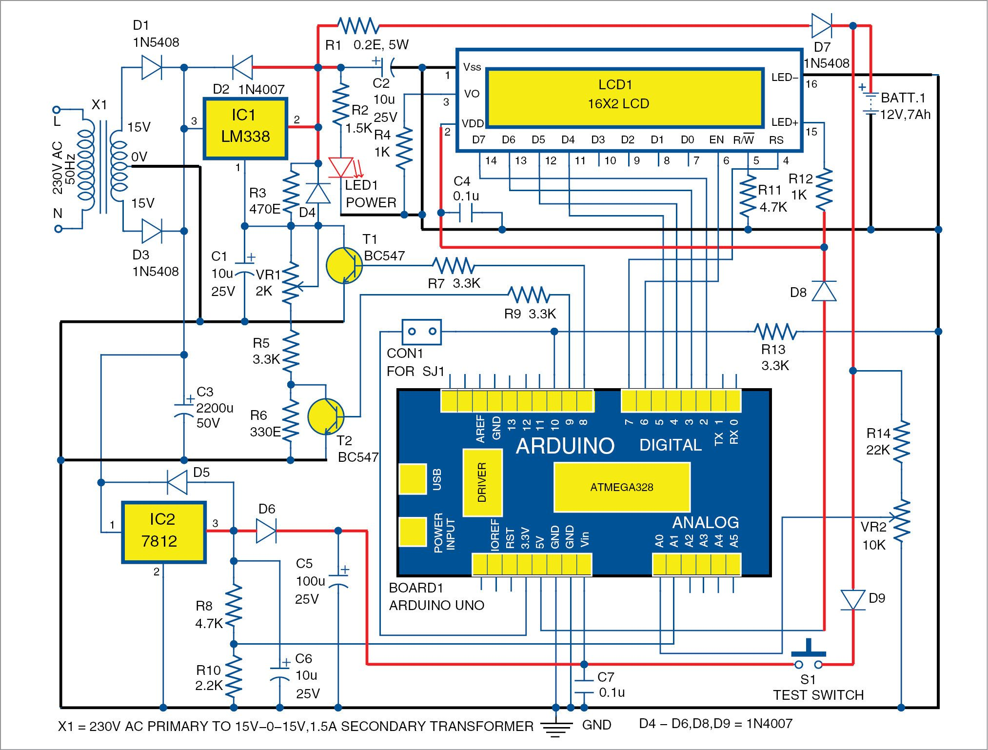 Ociated Equipment Battery Charger Wiring Diagram on