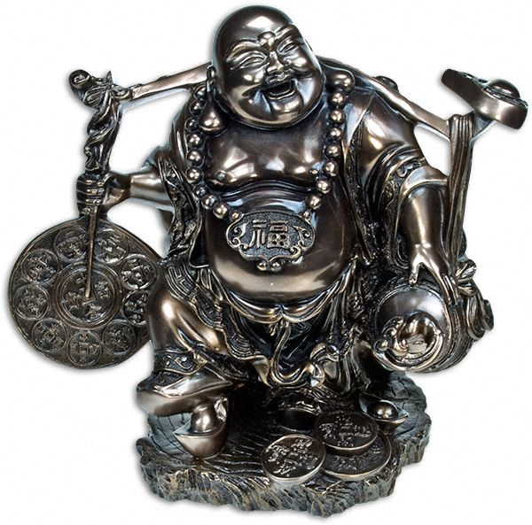 Good Luck Charms Buddha Figurine Is A Representation Of The