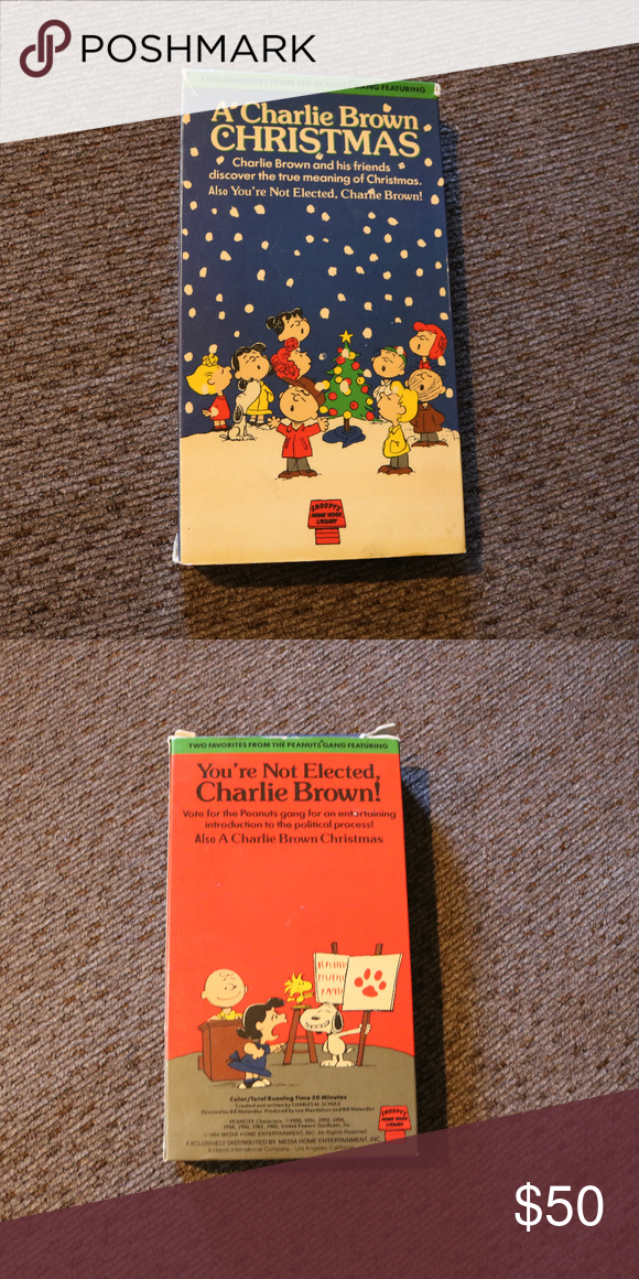 A Charlie Brown Christmas Vhs.Spotted While Shopping On Poshmark Very Rare A Charlie