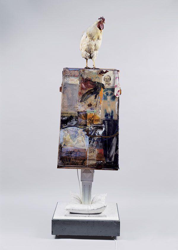 Robert Rauschenberg, Odalisk, 1955-1958, Freestanding ...