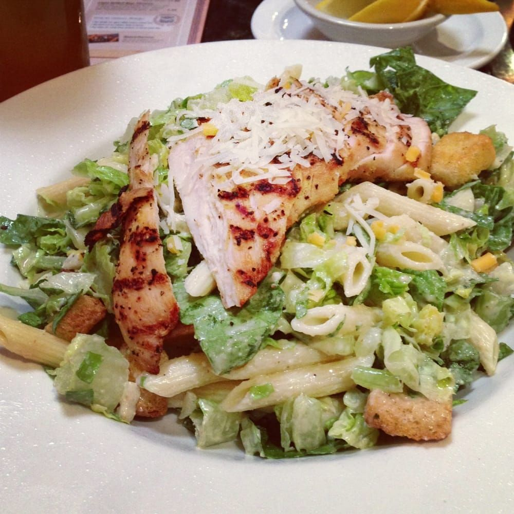Dennys Restaurant Copycat Recipes Chicken Caesar Pasta Salad