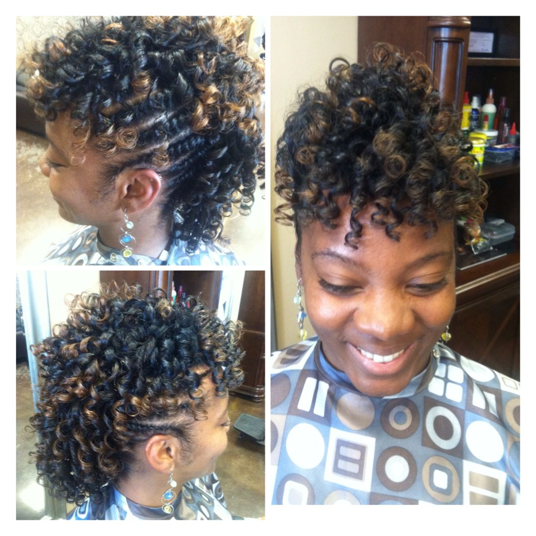 Twist flexie mohawk natural or relaxer hair facebook