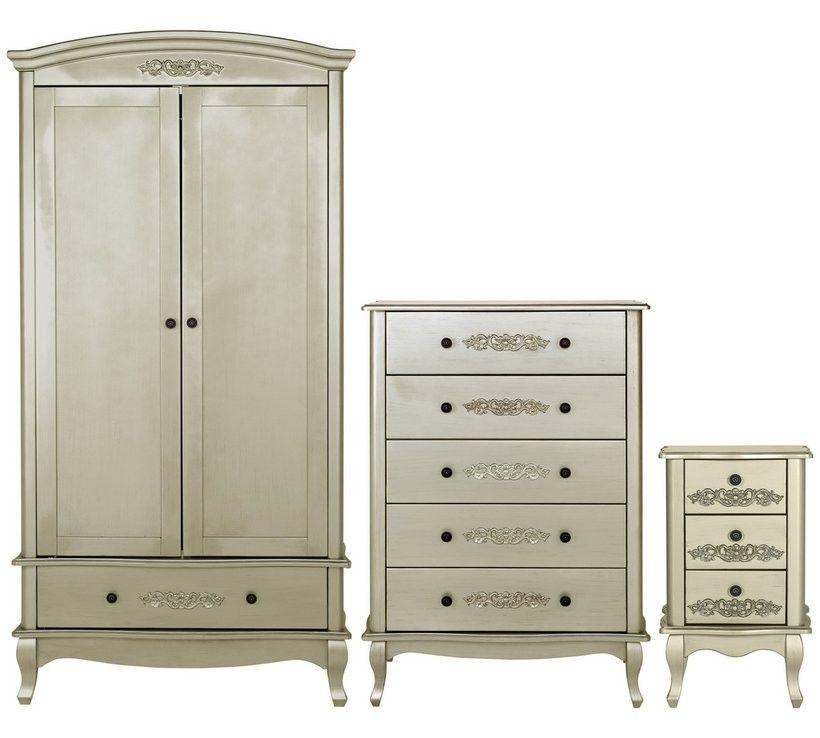Sophia Bedroom Set Champagne Argos, White Bedroom Furniture Sets Argos