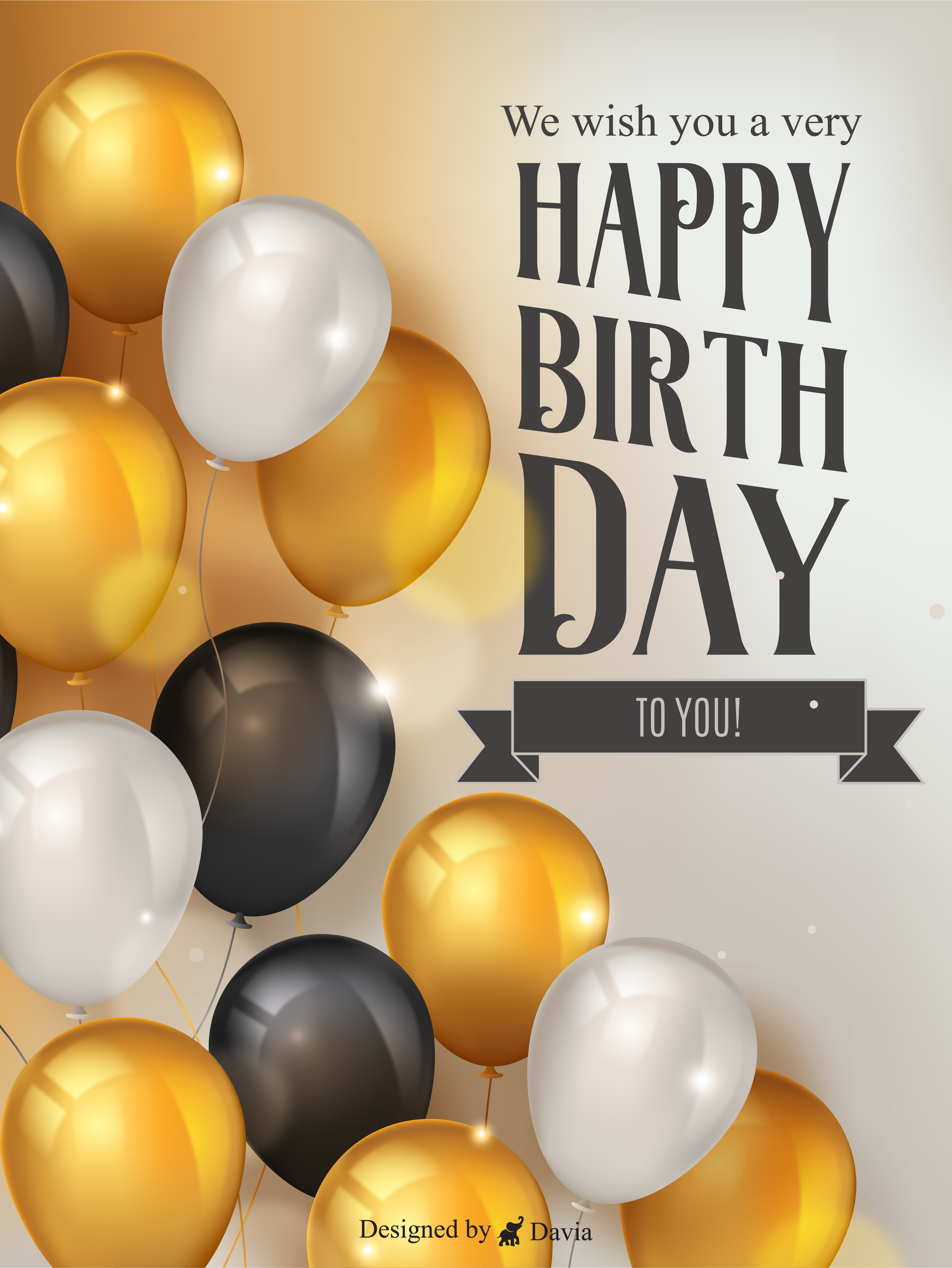 Freely Balloons Happy Birthday To Him Cards Birthday Greeting Cards By Davia In 2021 Happy Birthday To Him 60th Birthday Cards Birthday Greeting Cards