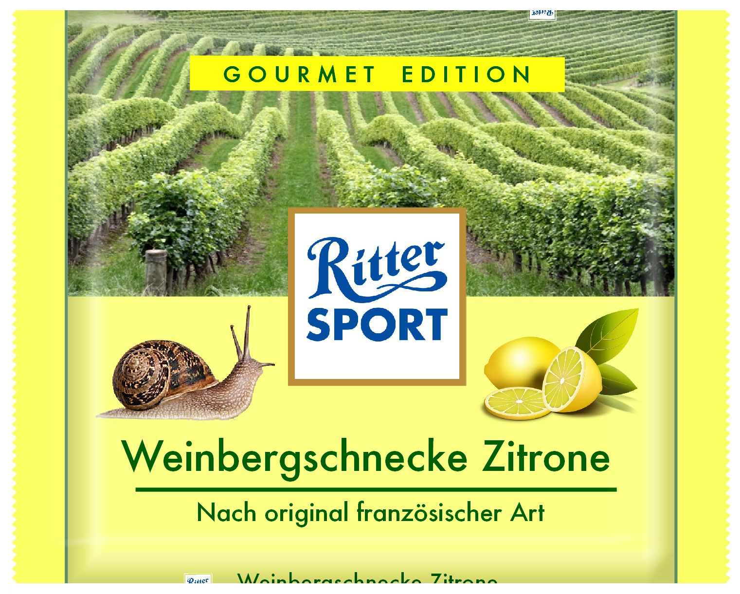 Photo of Ritter Sport – Zitronenschnecke