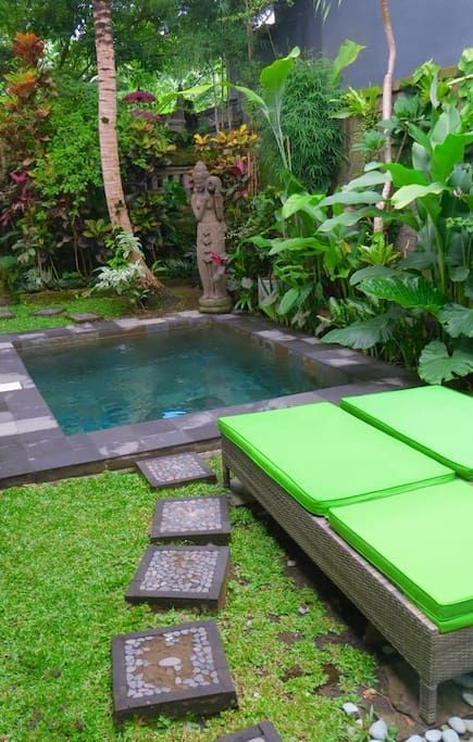 Rhumah ganesh private pool villa maisons louer ubud bali indon sie small pools spas - Maison a louer a bali ...