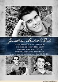 Image Result For 18th Birthday Invitations Boys