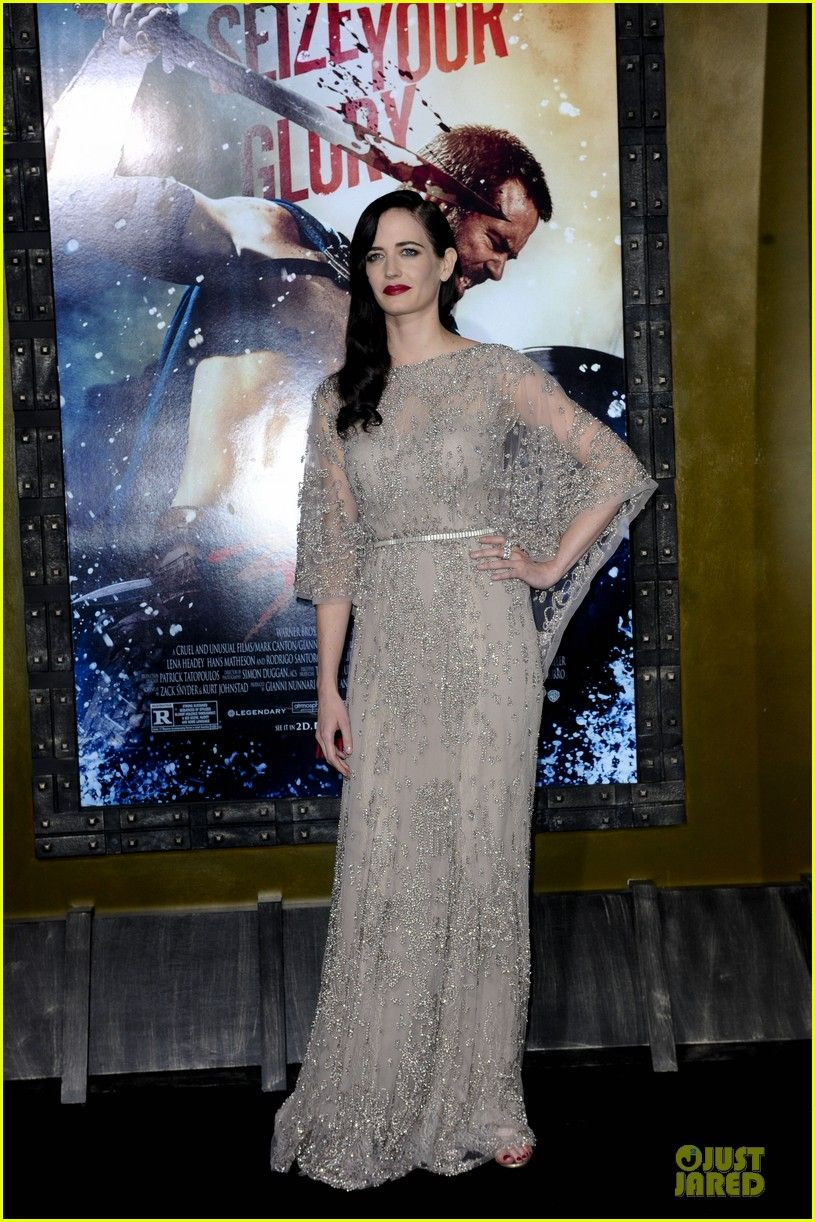 Eva green attends the premiere of her highly anticipated movie