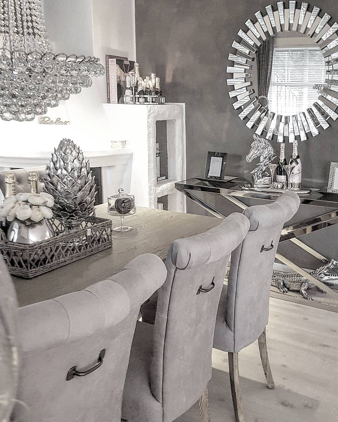 25 Elegant And Exquisite Gray Dining Room Ideas: INTERIOR & DECOR