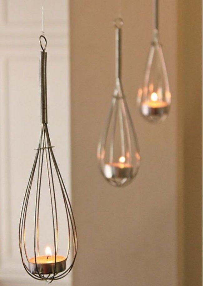 Aus einer Reibe eine Lampe basteln? Klar! 5 geniale DIY-Upcycling-Ideen für ausrangierten Küchenkram