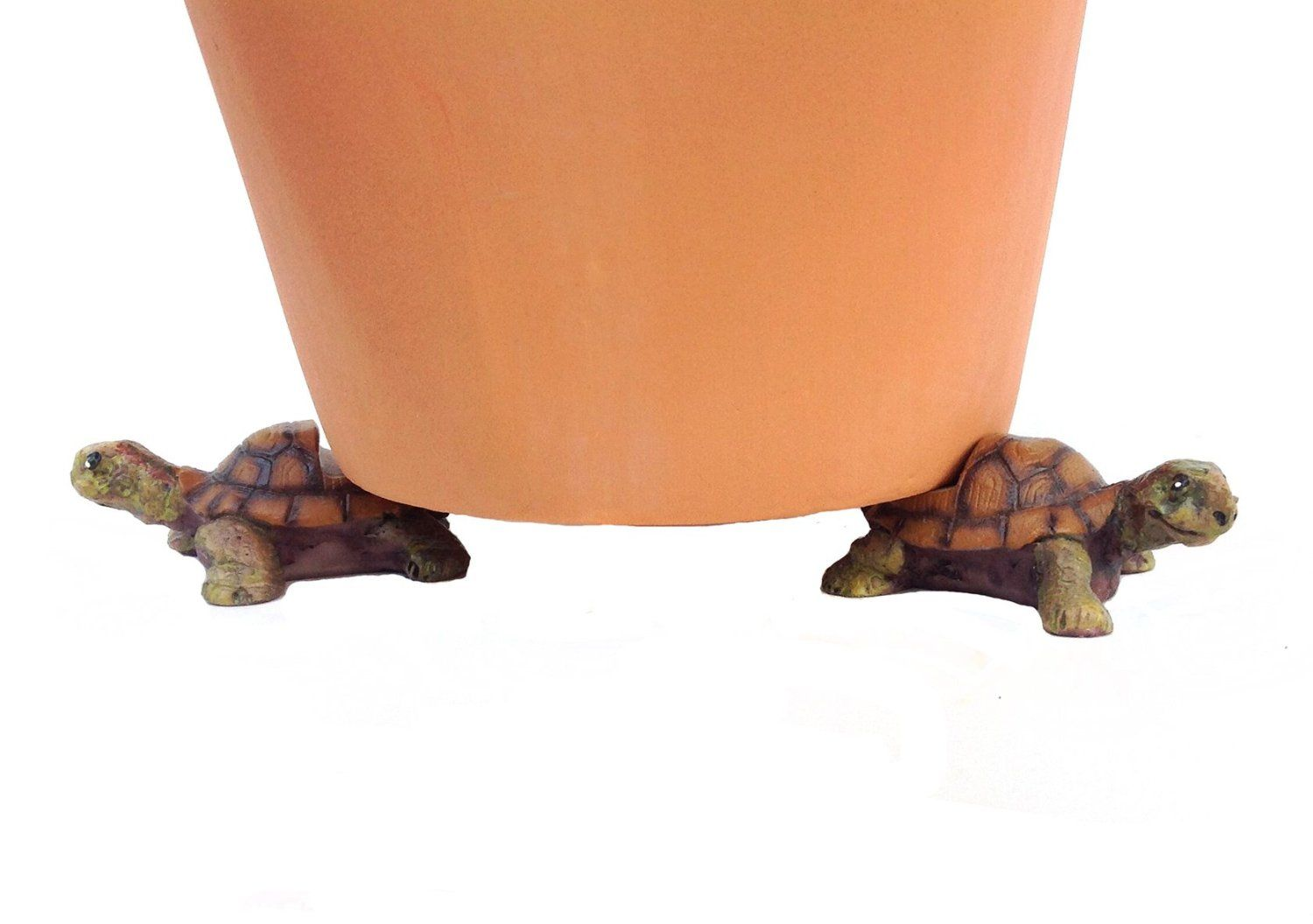 Animal Shape Plant Riser Feet Fun Animal Shapes To Life Container Garden Pots Off A Wooden Deck Or Patio Floor Prom Small Turtles Planters Decorative Planters