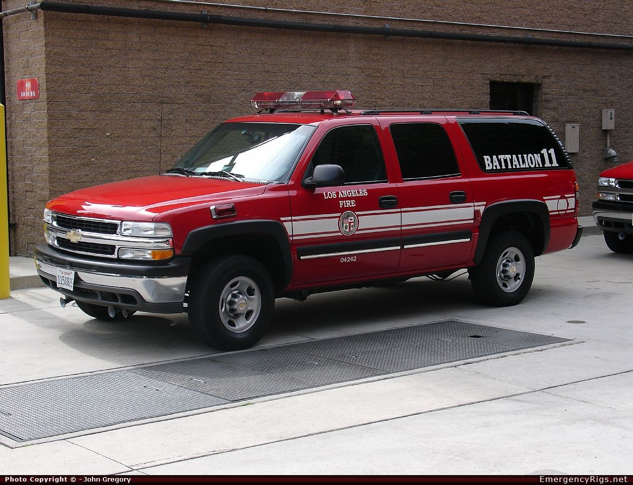 Chevrolet Suburban Command Los Angeles Fire Department Emergency