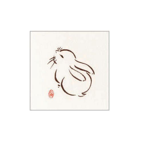 Japanese Bunny Just A Few Sweet Round Lines Tells The Story Rabbit Tattoos Bunny Tattoos Bunny Tattoo Small