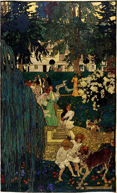Elizabeth Shippen Green: Life was made for love and cheer, 1904 | Flickr - Photo Sharing!
