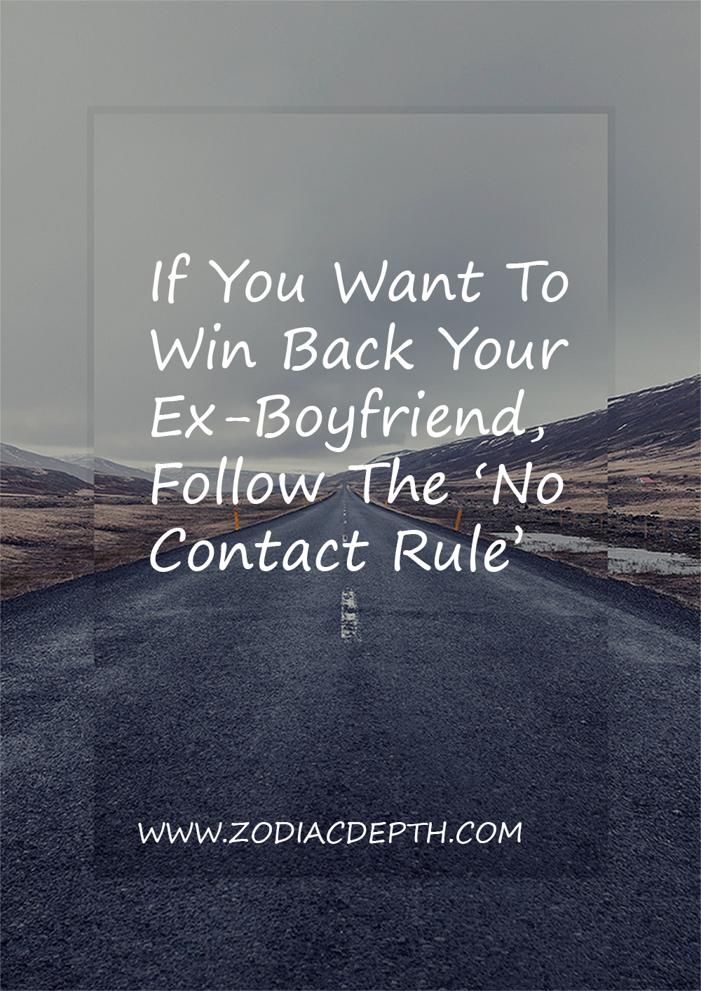 no contact rule with scorpio man