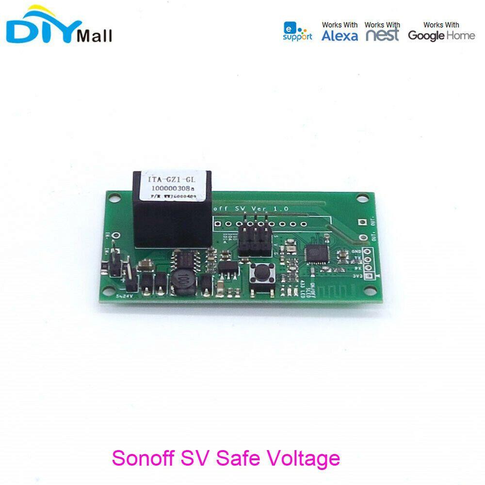 Sonoff SV DC 5-24V Safe Voltage WiFi Wireless Switch Module