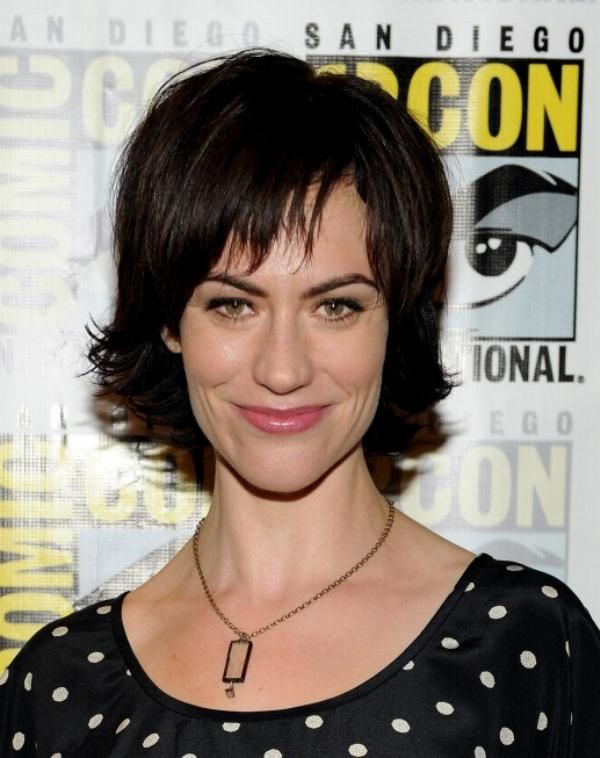 Celebrity Hair Talk Maggie Siff Of Sons Of Anarchy Maggie Siff Short Hair Styles Sons Of Anarchy