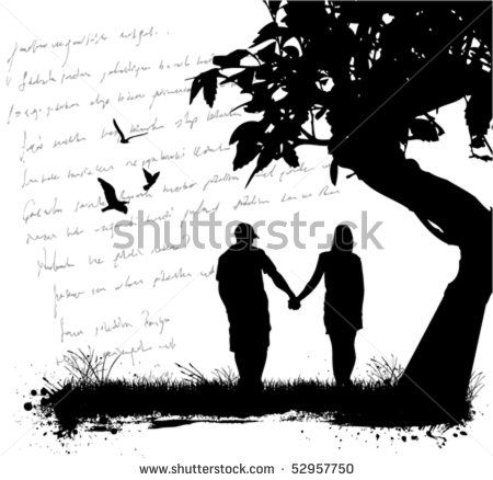 Couple Love By Sabri Deniz Kizil Via Shutterstock Love Silhouette Silhouette Black Dragon Tattoo